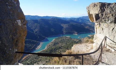 (Salto de la Reina) Ciurana de Tarragona, Catalonia, Spain