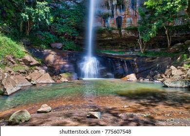 """Der """"Salto Suizo"""" ist der höchste Wasserfall Paraguays."""