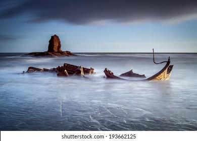 Saltwick Bay Shipwreck