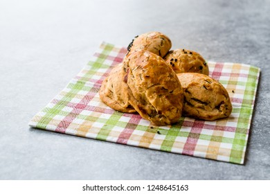 Salty Turkish Pastry with Dill / Pogaca