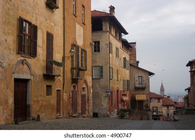 saluzzo, a beautiful historic city in the north of italy