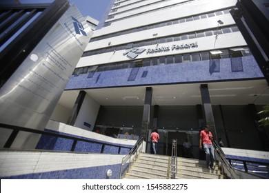 SALVADOR, BAHIA / BRAZIL - February 12, 2019: view of the IRS building in the city of Salvador (BA). (SHUTTERSTOCK / Joa Souza).