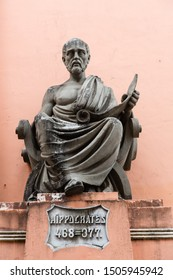 Salvador/Bahia/Brazil - JAN 13 2016: Hippocrates Sculpture of the Bahia School of Medicine