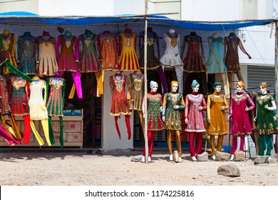 Salwar kameez shop in Hyderabad, Andhra Pradesh, India