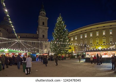Salzburg Christmas Market.Christmas Markets Salzburg Images Stock Photos Vectors