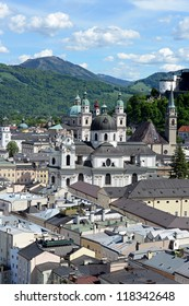 Salzburg in Austria is named World Culture Heritage
