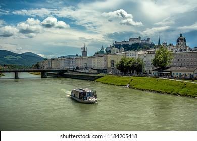 Salzburg, Austria. Old Town of Salzburg
