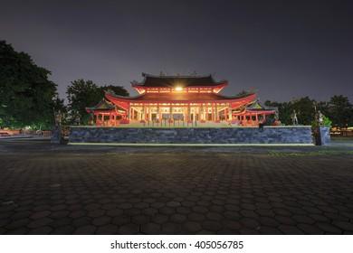 Sam ko Pong Temple Location Semarang Central Java indonesia