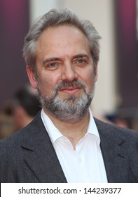 Sam Mendes arriving for the Charlie And The Chocolate Factory Press Night, at Theatre Royal, London. 25/06/2013