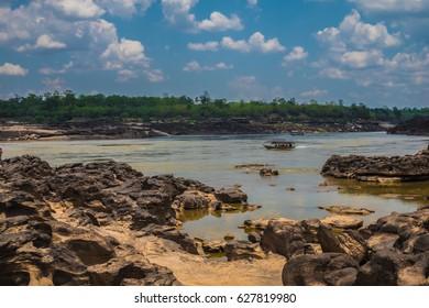 Sam Pan Bok (Grand Canyon of Thailand), Ubon Ratchathani, Thailand (soft focus)