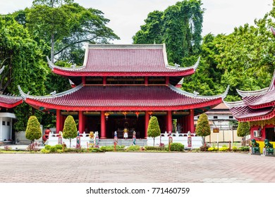 Sam Poo Kong temple in Semarang on central Java in Indonesia