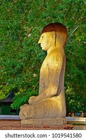 Samadhi Buddah Statue, meditating Buddah, beauty and holiness, Sri Lanka