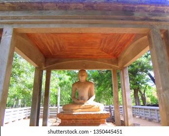 samadhi buddha statue Anuradhapura