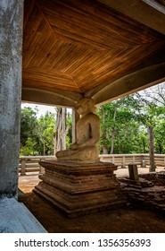 Samadhi Buddha statue in Anuradhapura, Sri Lanka on 17 September 2016
