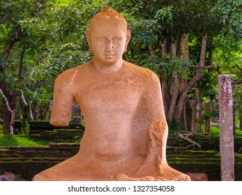 Samadhi Statue of Buddha in Anuradhapura, Sri Lanka.
