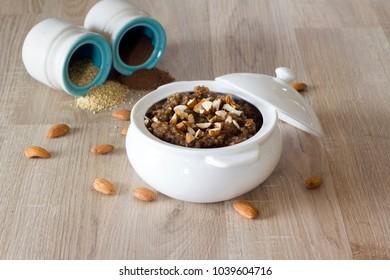 Samai Kesari or little millet kesari is a healthy diabetic friendly sweet.
