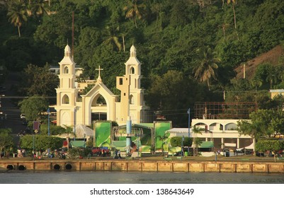 Samana city, Dominican Republic