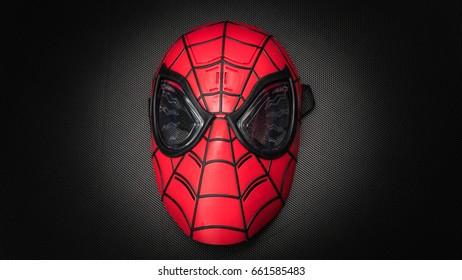 Spiderman Mask Images, Stock Photos & Vectors   Shutterstock