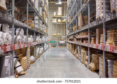 SAMARA, RUSSIA - NOVEMBER 15, 2017: ikea Warehouse. IKEA is the world's largest furniture retailer.
