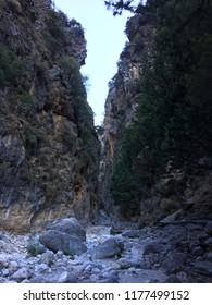 Samaria gorge, Sfakia, Crete, Greece