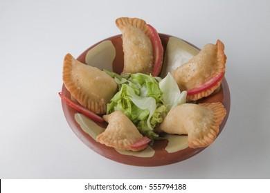 Sambousek is an appetizer in arabin cuisine