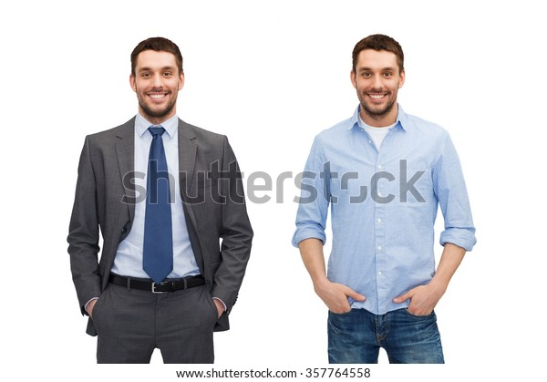 00d0f1f62568 Same Man Different Style Clothes Stock Photo (Edit Now) 357764558