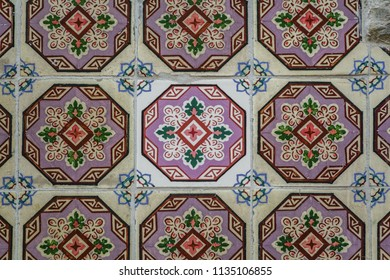 Same tiles with different age, restoration process