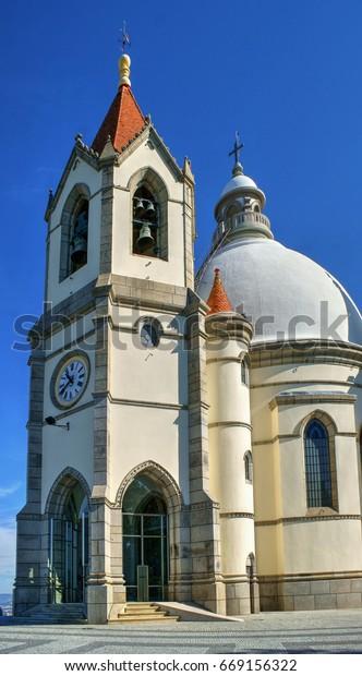 Sameiro sanctuary in Penafiel, north of Portugal