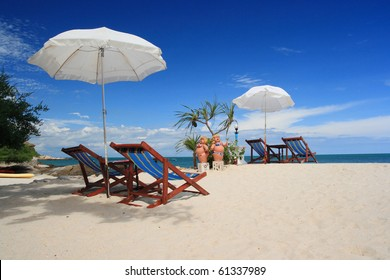 Samet island, tropical beach of Thailand.