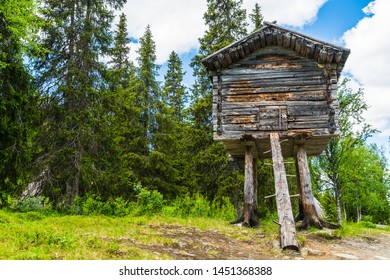 A Sami dwelling in northern Sweden located in a small Sami village called Fatmomakke and located along the Wilderness Road