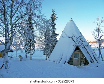 sami house in lapland