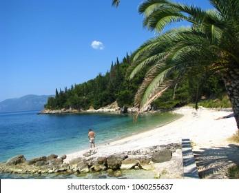 Sami Kefalonia beach Greece