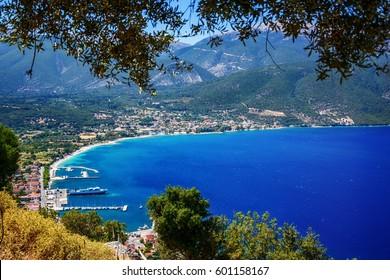 Sami port, Kefalonia island Greece