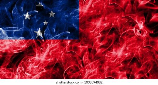 Samoa smoke flag