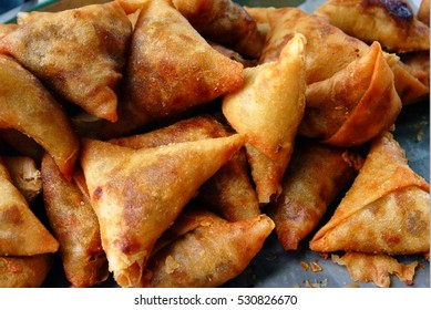 samoosa is a fried or baked pastry with a savoury filling