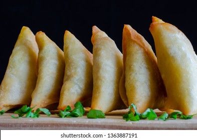 Samoosas, also sometimes referred to as a somosa, are an ever popular Indian delicacy in Durban, South Africa. Durban has the largest Indian polulation of any Western city in the world.
