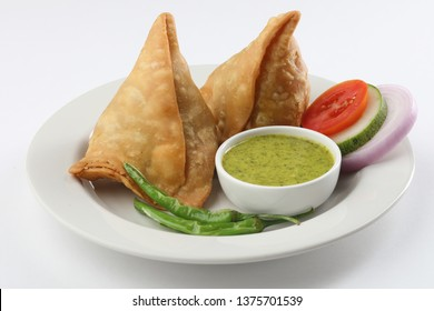Samosa , Popular and famous Indian Snack, chat