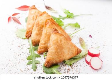 Samosas, indian food