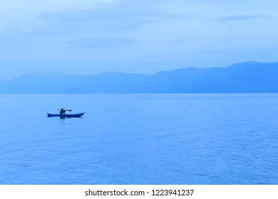 Samosir, North Sumatra - CA, 2017: Toba Lake, The Beauty of Indonesia from North Sumatra.