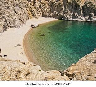 Samothraki beach, Greece
