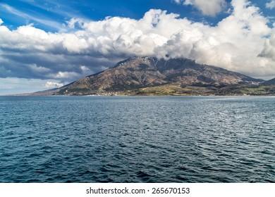 Samothraki island Greece