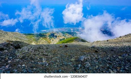 Samothraki Island - near Fengari summit