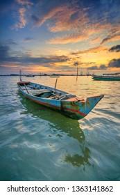 Sampan Nelayan Batam