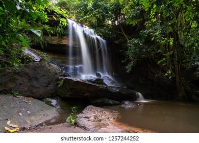 Samrongkiat water fall at Sisaket, Thailand