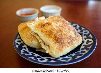 Samsa, Traditional Uzbek Food