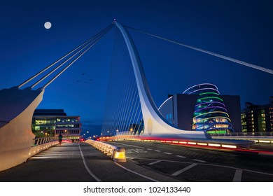 Samuel Beckett Bridge, Dublin,Ireland