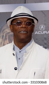 """Samuel L. Jackson at the Los Angeles premiere of """"The Avengers"""" held at the El Capitan Theater in Hollywood, USA on April 11, 2012."""