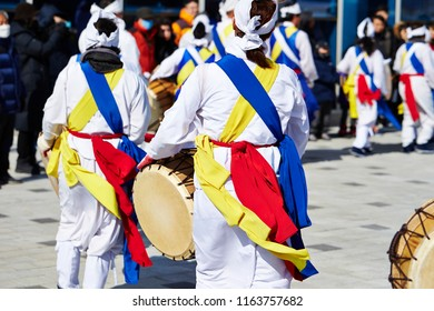 Samul nori, traditional Korean performance