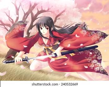 Samurai girl #1