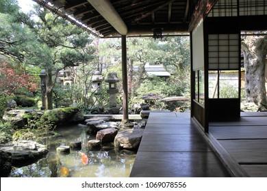 A samurai residence at Kanazawa City, Ishikawa Prefecture, Japan.